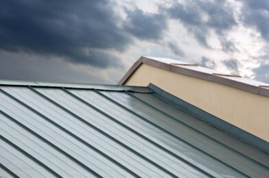 Dent Metal Roofs Greater Fort Worth